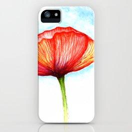 Papaver II iPhone Case