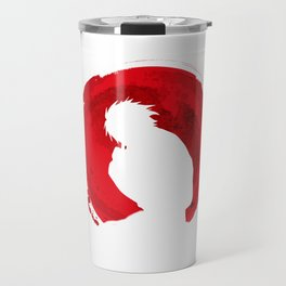 Red L Death note Travel Mug