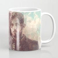 leon Mugs featuring kings of leon by Nechifor Ionut