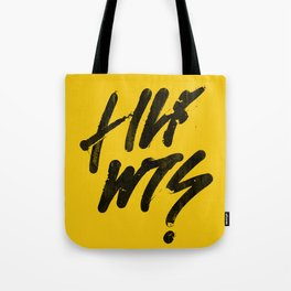 QUESTIONED - Reverse Tote Bag