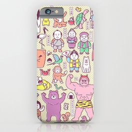 Mukashi-Banashi / Japanese Folk Tales iPhone Case