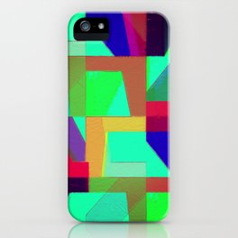 Colorful Truth. Green. iPhone Case