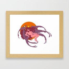 Star of the Morning Framed Art Print