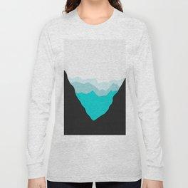 Minimalist landscape I Long Sleeve T-shirt