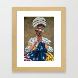 """We The People"" Framed Art Print"