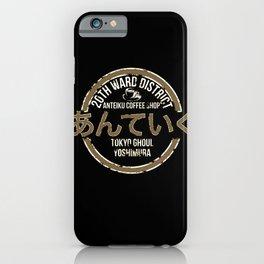 Anteiku Coffee Shop iPhone Case