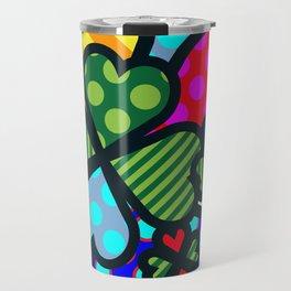 Lucky Cloverleaf XL Travel Mug