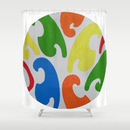 Farbwerk 45 Shower Curtain