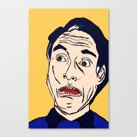 lichtenstein Canvas Prints featuring Roy Lichtenstein  by Rachel Cecelski