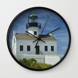 Cabrillo National Monument Lighthouse Wall Clock
