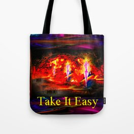 Heavenly apparition  - Take It Easy Tote Bag