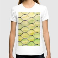 the wire T-shirts featuring Chicken Wire by Dawn Patel Art