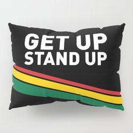 Get Up Stand Up / Rasta Vibrations Pillow Sham