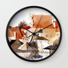 akwarelka 61 Wall Clock