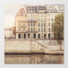 Paris Seine Canvas Print
