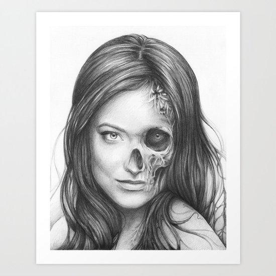 Thirteen from House MD Art Print