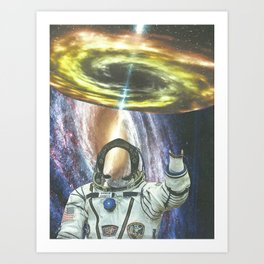 Invisible Space Art Print