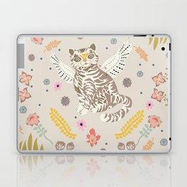 angel kitten Laptop & iPad Skin