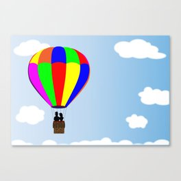 Amongst the Clouds Canvas Print