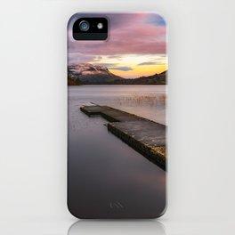 Glenade Lough in County Leitrim - Ireland (RR 260) iPhone Case