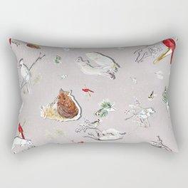 Winter Friends Rectangular Pillow