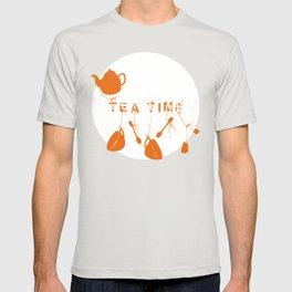 Pink and Orange Tea Time T-shirt