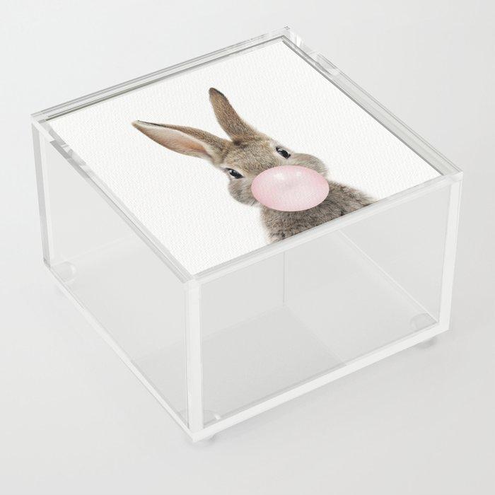 Bubble Gum Bunny Acrylic Box