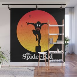 The Spider Kid Wall Mural
