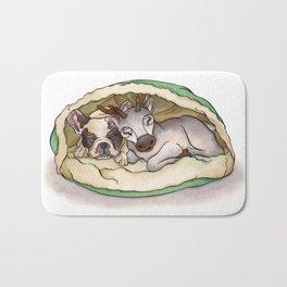 Bubba & Sleeping Reindeer Bath Mat