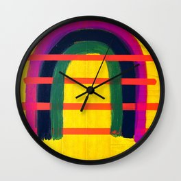 Heart Space Wall Clock