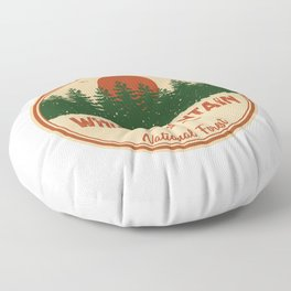 White Mountain National Forest Floor Pillow