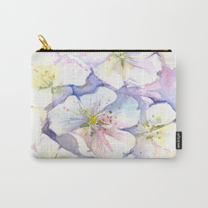 Cherry Blossoms Flowers Spring Floral Carry-All Pouch