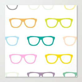 Colorful Specs Canvas Print