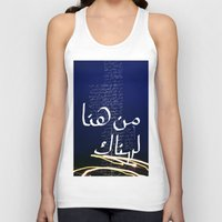 lost in translation Tank Tops featuring Translation by Ayman Itani