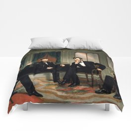 The Peacemakers -- Civil War Union Leaders Comforters