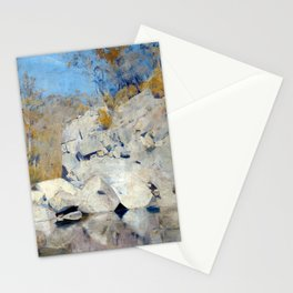 Tom Roberts In a Corner on the Macintyre Stationery Cards