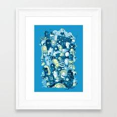 Under my bed Framed Art Print
