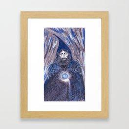 Dark Sorcerer  Framed Art Print