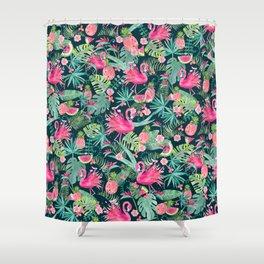 Tropical Summer Shower Curtain