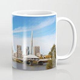 Downtown Winnipeg 2 Picture Panorama Coffee Mug