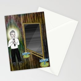 The Empty Mirror Stationery Cards
