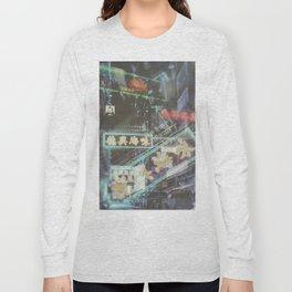 Hongkong Signs V Long Sleeve T-shirt