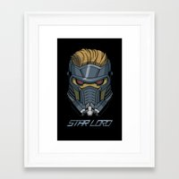 star lord Framed Art Prints featuring Star Lord by Toraneko