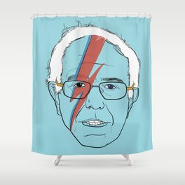 Blue Bernie Sanders 2016 Shower Curtain