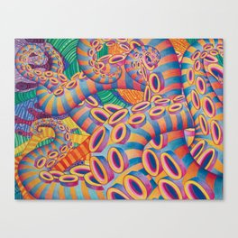 Tentaculon 2 Canvas Print
