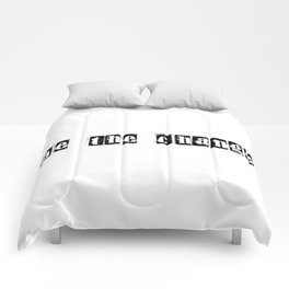 be the change Comforters