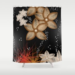 fiore francese Shower Curtain