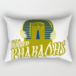 giza pharaohs Rectangular Pillow