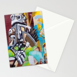 Graffiti in #Montreal Stationery Cards