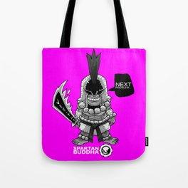 Chibi SPARTAN BUDDHA Tote Bag